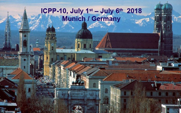 第10届卟啉与酞菁国际学术会议(ICPP)将在德国慕尼黑召开